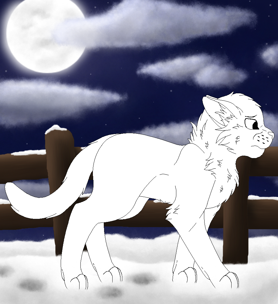.:A Cold Winter Night:. YCH (CLOSED) by Snowy-Clover