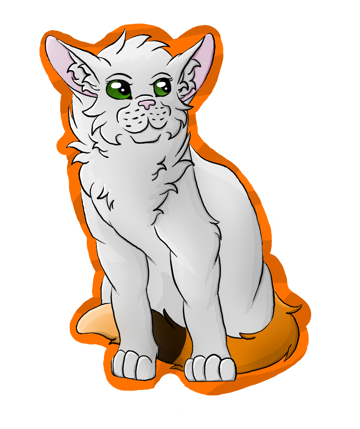 Calico Tail Cat by Snowy-Clover