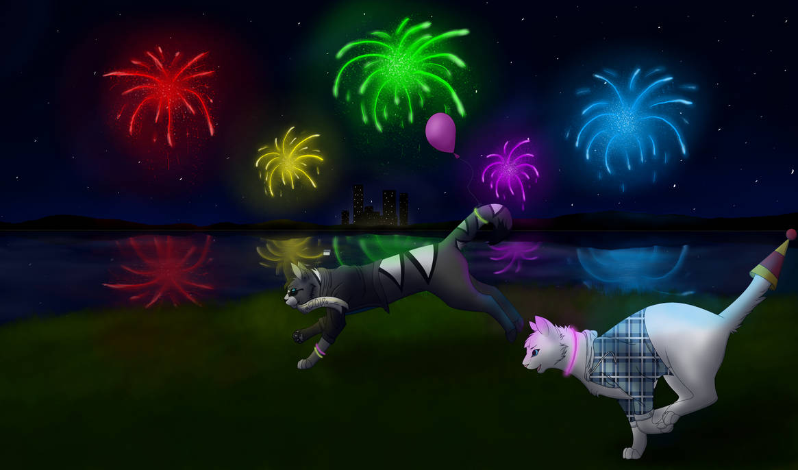 New Years Collab (Redo) by Snowy-Clover