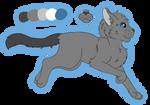 Graytail Ref (reboot) by Snowy-Clover