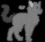 Graytail Ref by Snowy-Clover