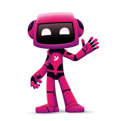 Pink robot by Anim8six