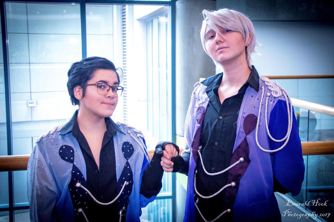 Viktor and Yuuri -- Viktuuri Is Real! by EmeraldHookPhoto