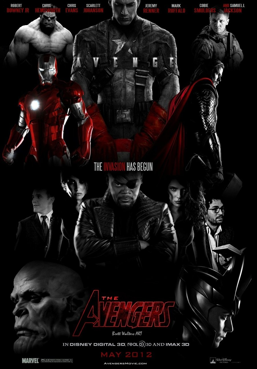 Avengers Style Poster by GeekTruth64 on DeviantArt
