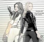 Miranda  Lawson + Sarah Walker
