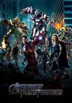 Avengers/Transformers Poster
