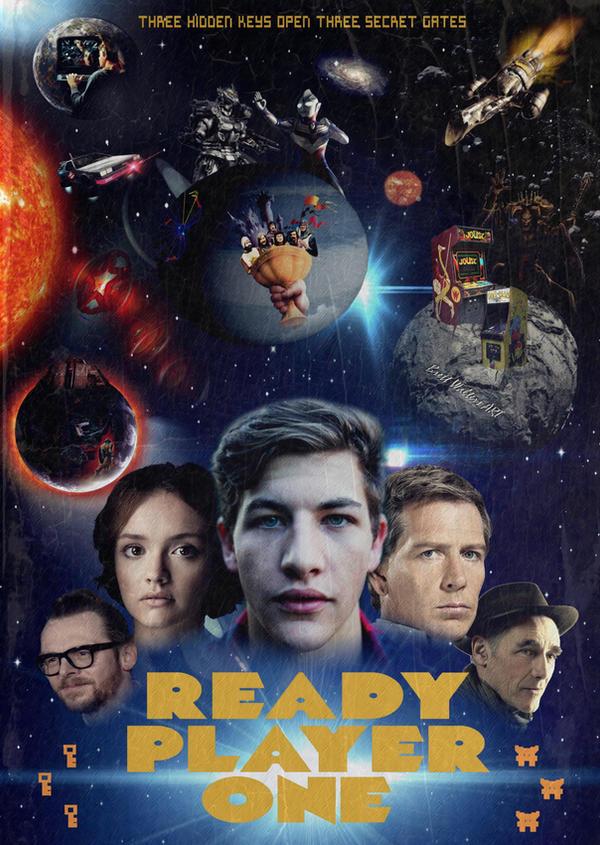 Ready Player One Movie Fan Art