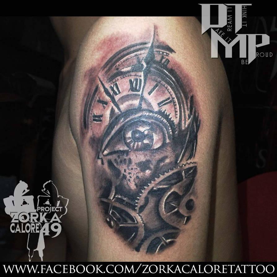 79a16614f clock tattoo by zorka calore tattoo by surfboyz12 on DeviantArt
