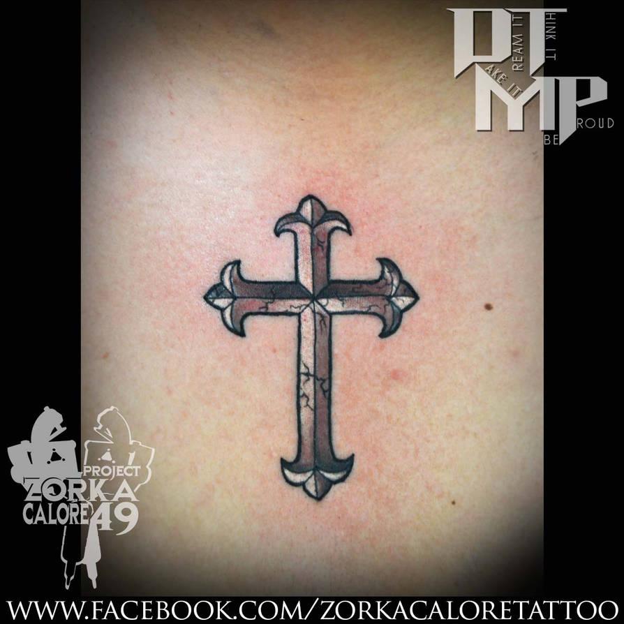 94eea0fdc Cross tattoo by zorka calore tattoo by surfboyz12 on DeviantArt