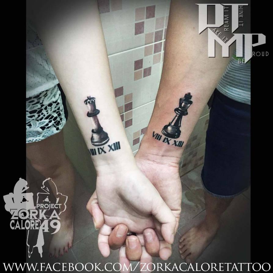 6e61bb7c0 couple chess Tattoo By Zorka Calore Tattoo by surfboyz12 on DeviantArt