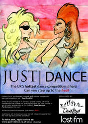 Just Dance competition poster