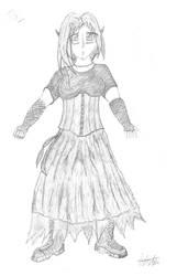 Rei in a Dress