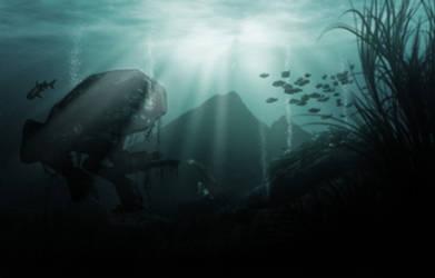 Under Water Puma by nospy