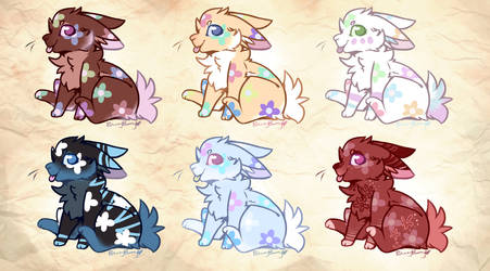 *Cheap - Spring Bunny Adoptables - open by BreezyBunny