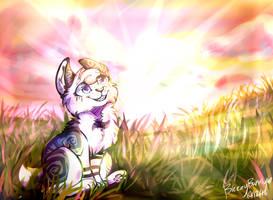 Littletail Loves Sunshine by BreezyBunny