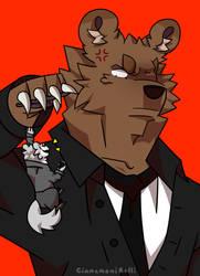 Secret agents by CinnamoniRolli