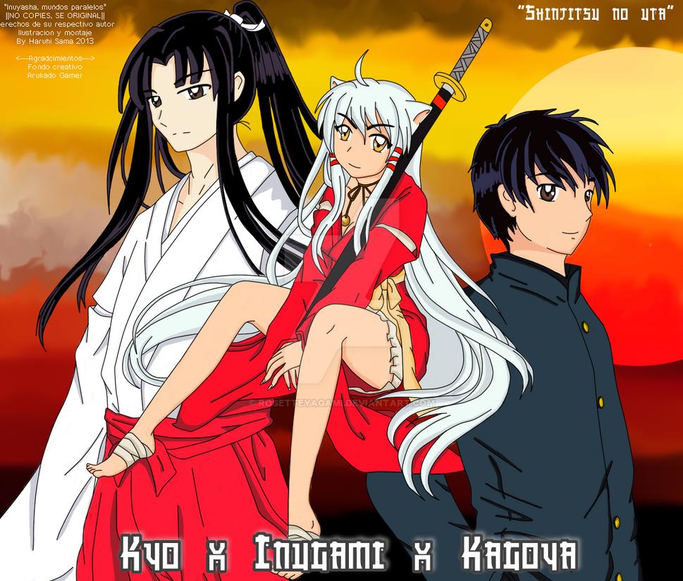 Kyo X Inugami X Kagoya By RosetteYagami On DeviantArt