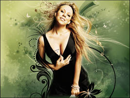 Mariah Carey by cendredelune