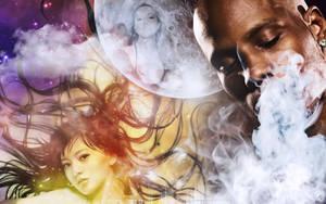 Mariah Carey, DMX, Alan Ashita by cendredelune