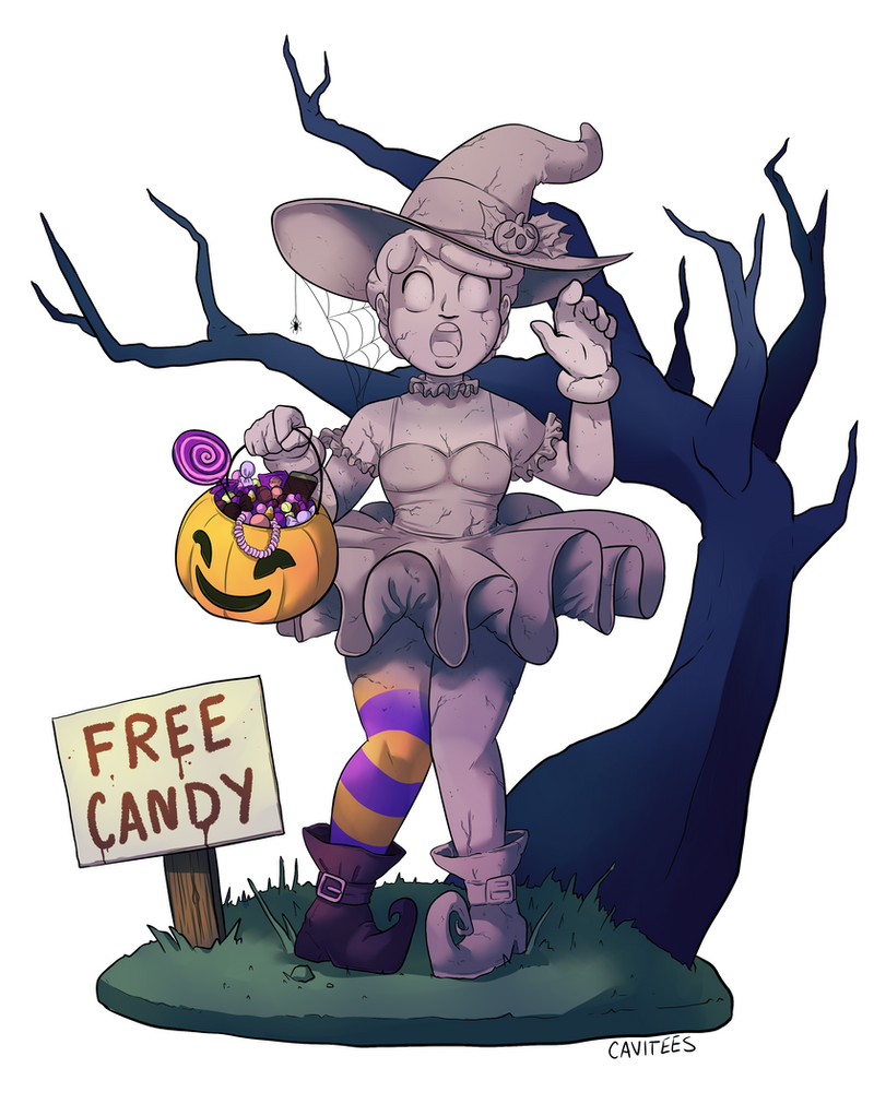 Commission - Free Candy by Cavitees