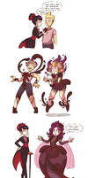 Rose Queen's Wardrobe by Cavitees