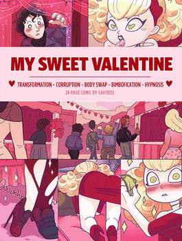 MY SWEET VALENTINE: 24 page paycomic