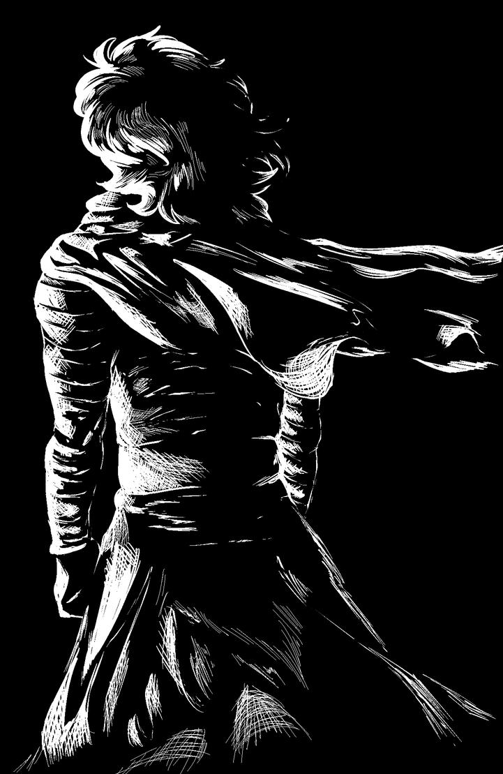 Black Kylo by Ryxor
