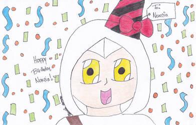 Happy Birthday Nuxcia! by Cloudie-Skye