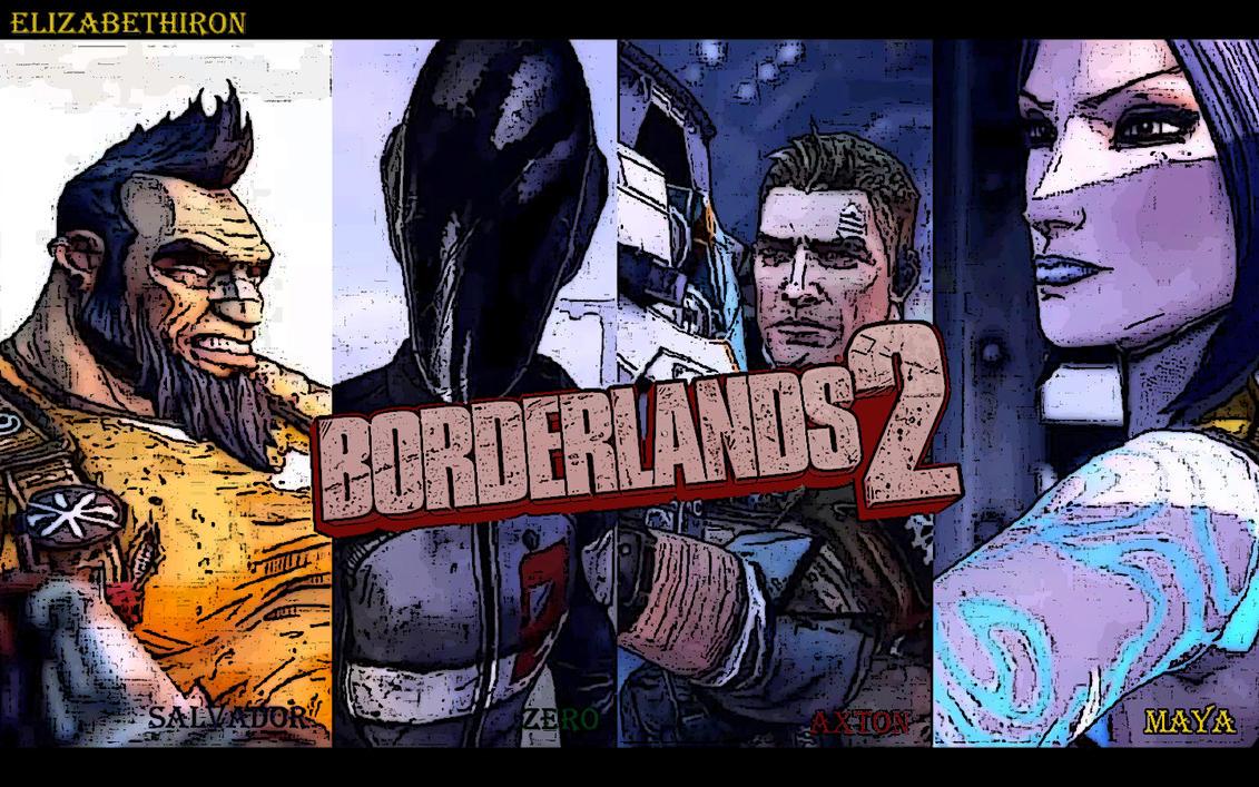 Borderlands 2 Zero And Maya In Love   www.pixshark.com ... Borderlands Character Backstory