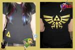 The legend of zelda T-shirt by TheDarkLittleBunnY