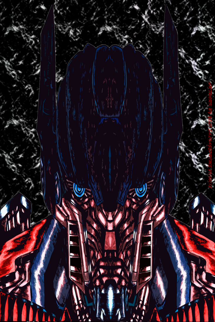 OPTIMUS PRIME SOMEWHERE I BELONG FULL IMAGE by SALVAGEPRIME8686