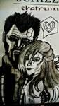 Adam Jensen and Iris by SALVAGEPRIME8686
