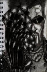 Golden Mask Adam Jensen Deus Ex