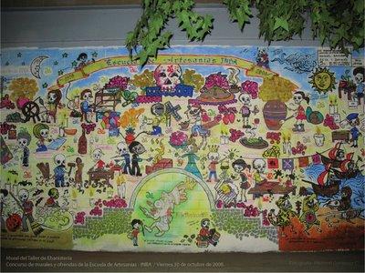 Mural dia de muertos ahui by ahui tacubaya on deviantart for Dia mural artist