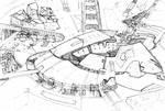 Cyberpunk Stadium 1