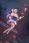 Magic Mercy by 0sminozhka