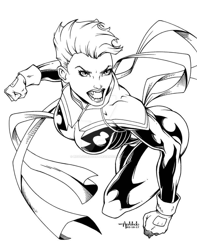 Captain Marvel by ReyAcevedoArt
