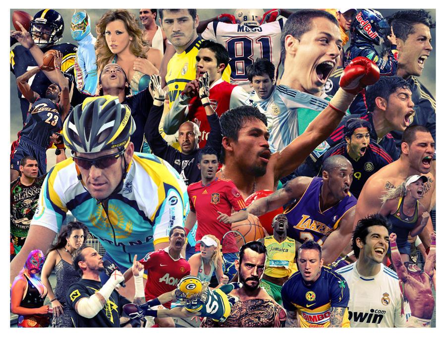 collage sports deviantart