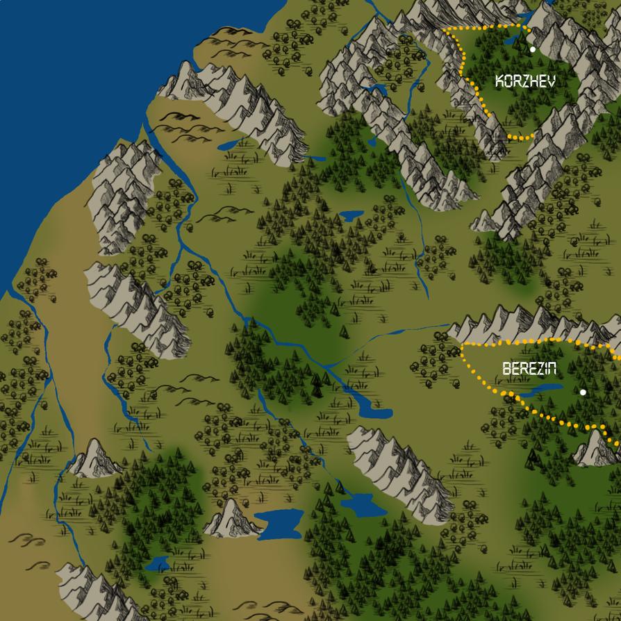 Transylvania Legends Map by CXCR
