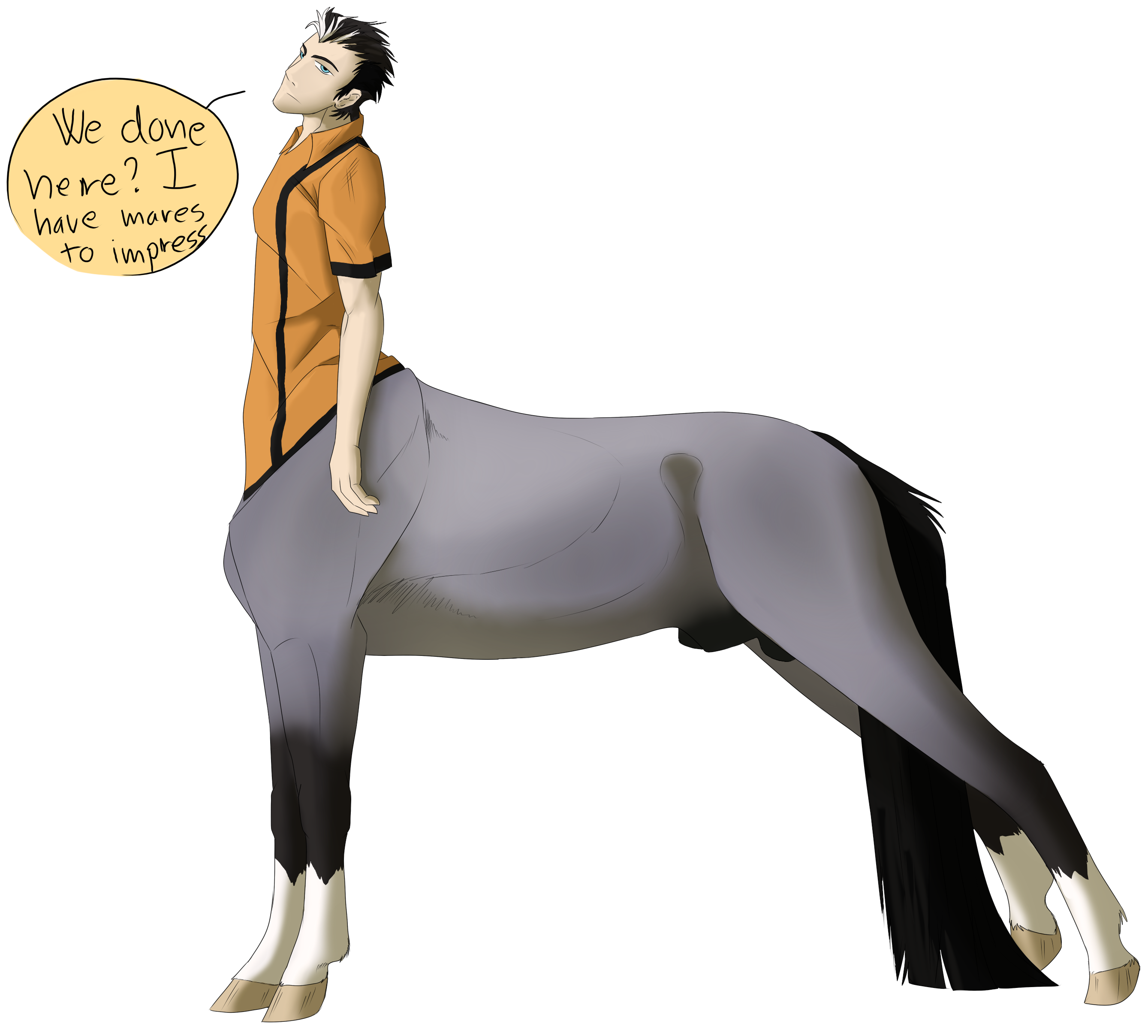 Centaur OC: Rhett by CXCR