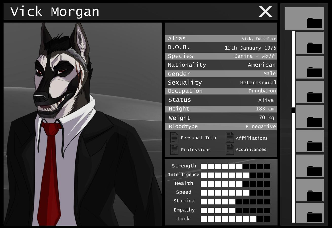 Vick Morgan Information by CXCR