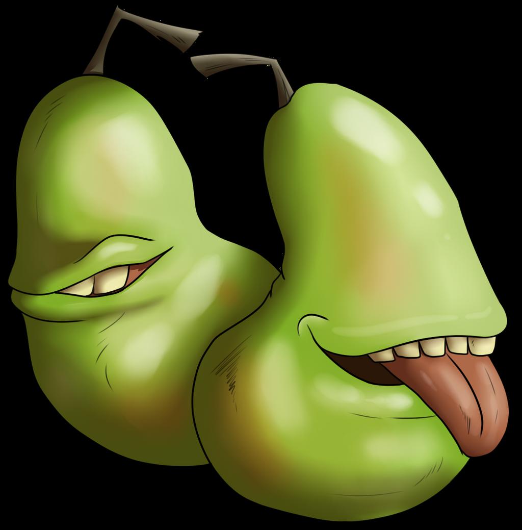 Biting Pear by CXCR