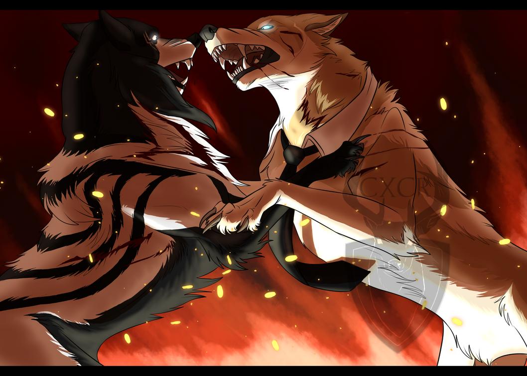 Fight by CXCR