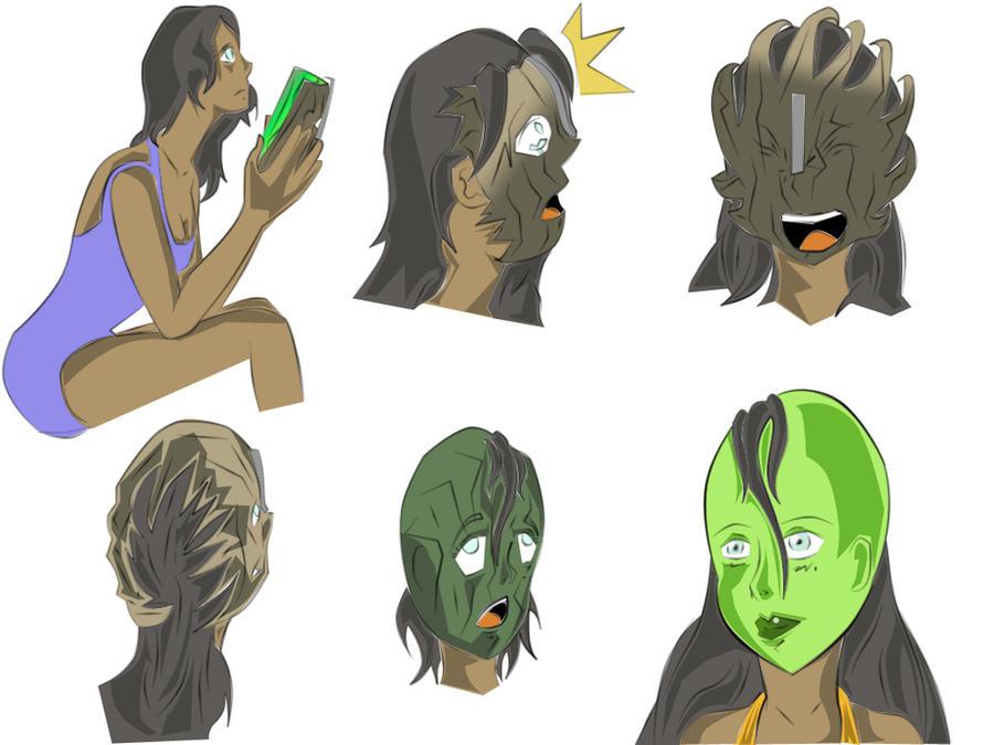 Loki Mask Cartoon: The Mask Favourites By Lolinondoda On