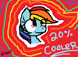 Rainbow Dash- 20% Cooler by xXTabithatheCatXx