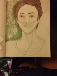 Hazel Grace Lancaster (The Fault In Our Stars) by WildRaedWolff