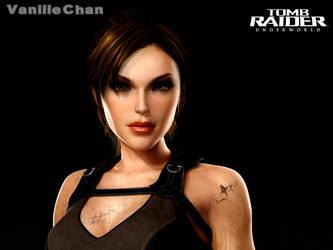 Lara Croft by VanilleChan