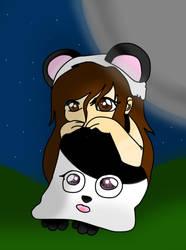 Chibi panda me :3 by VanilleChan