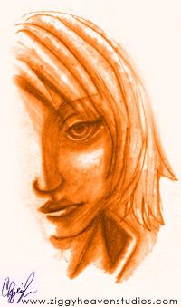 Portrait of Aya by Ryiena