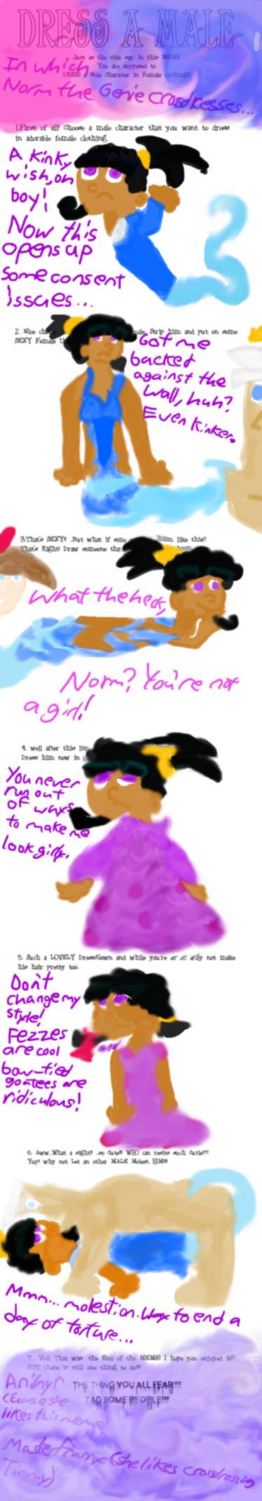 FOP: DRESSaMaleMEME - Norm by unknown20troper